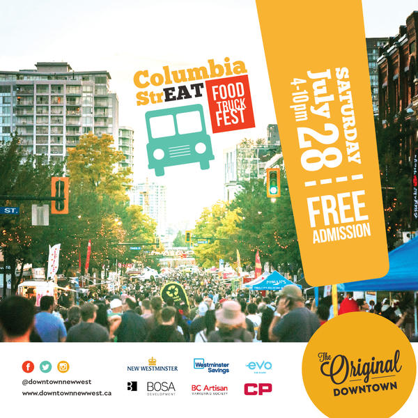 Columbia Streat Food Truck Fest Downtown New Westminster Bia