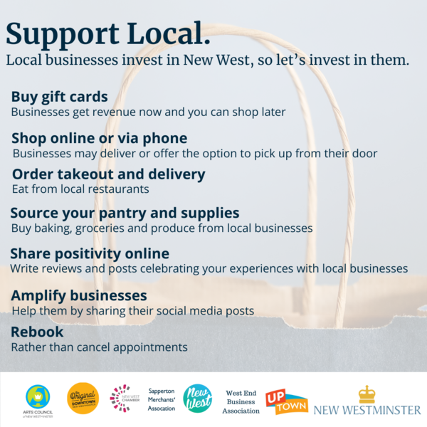 Support Local Square Tips