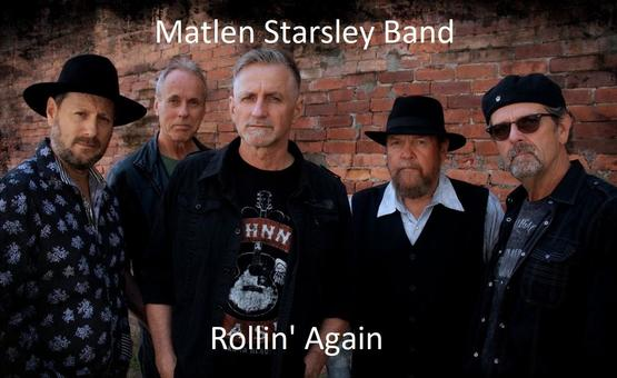 The southern rock grooves of The Matlen Starsley Band